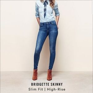 🔥NWT LUCKY BRAND Bridgette High Rise Skinny Jeans
